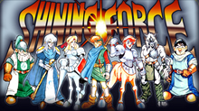 Hands-On Shining Force iPhone 1