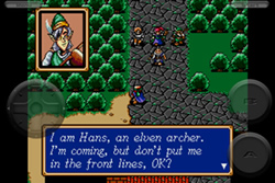 Hands-On Shining Force iPhone 4