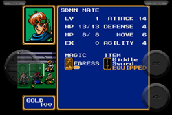 Hands-On Shining Force iPhone 5