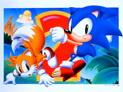 Sonic & Tails 2 - Sonic the Hedgehog - Gallery - Sonic SCANF
