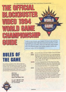 1994 blockbuster video game championship