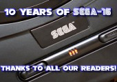 10 Years of Sega-16: Thanks to All Our Readers