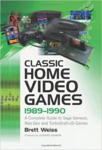 16-Bit Books-Classic Home Video Games 1989-1990 1