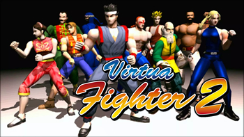 Virtua Fighter 2 (Saturn)